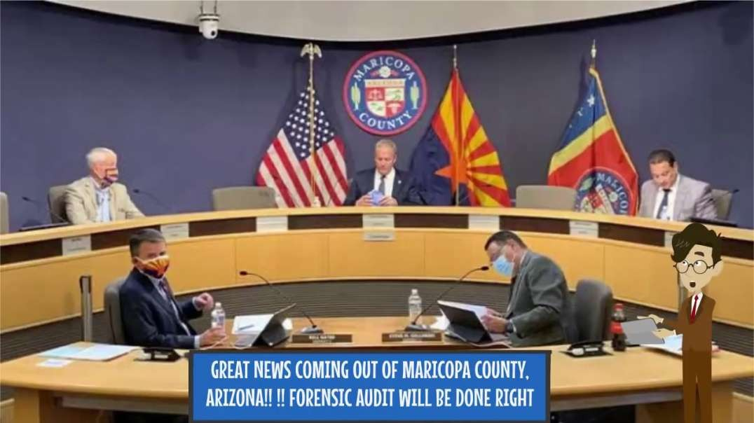 Senate Pres Karren Fann has FORENSIC AUDIT crew in place? Pulitzer to oversee? MARICOPA Az new