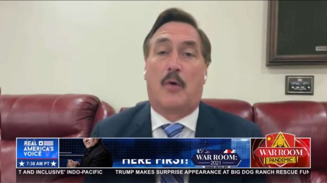 Mike Lindell 'This Fradulant president should be gone by this year'