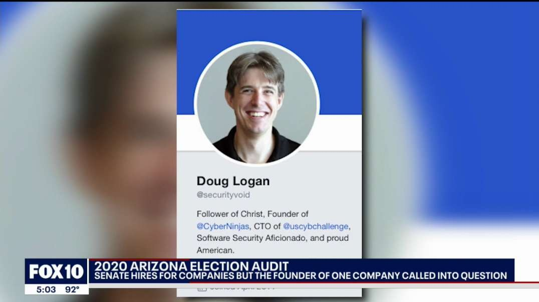 Founder of company for Maricopa audit called into question - BOS looking for legal Exit! NEW! 4/1