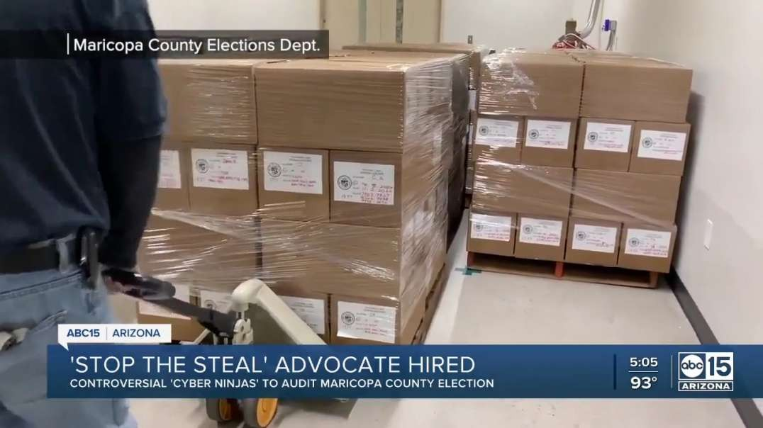 Local News ABC15: AZ Hires Controversial Audit team 'Cyber Ninjas' for Maricopa AUDIT NEW!