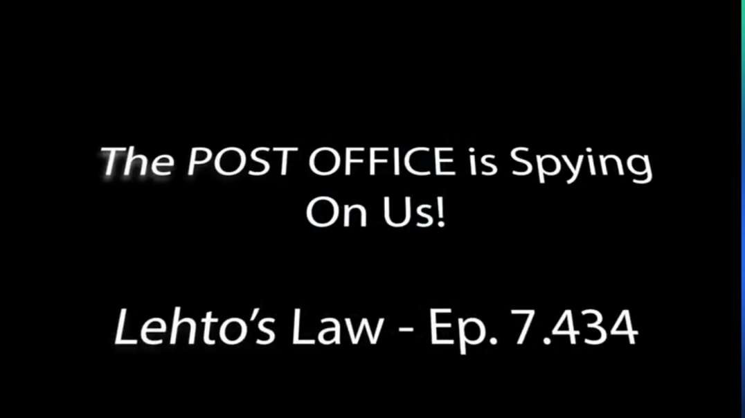 The Post Office is Spying on Us! Ep