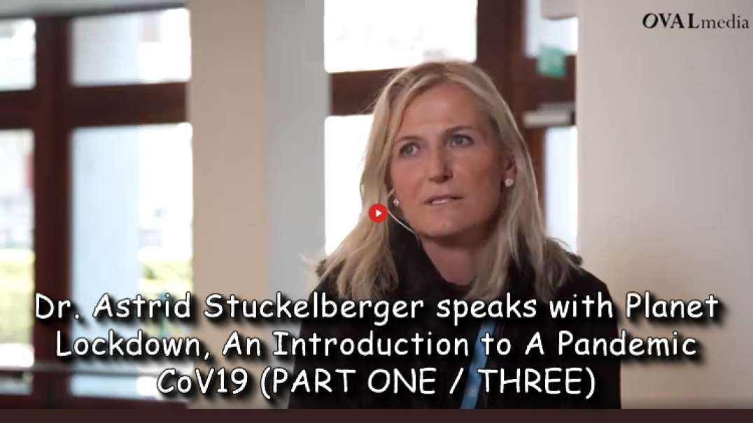 2021 JUN 05 Dr Astrid Stuckelberger speaks with Planet Lockdown, Introduction to A Pandemic CoV19