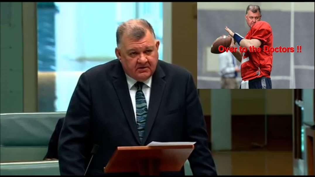 HCQ - The State of Play and the Political Team Blocking the Medication - Craig Kelly Parliament