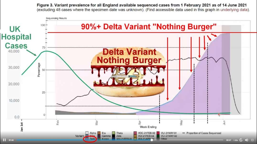 """Delta - Skelter   Real World Proof of the Covid19 Delta Variance """"Impact"""""""