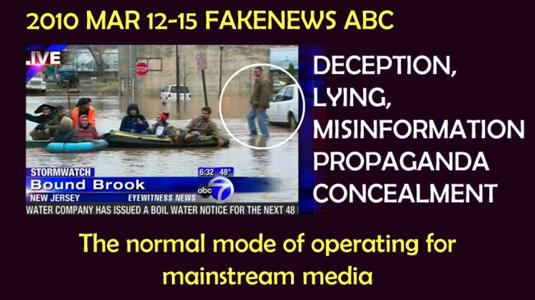 2010 MAR 12-15 FAKENEWS ABC7 Storm Watch Lucy Yang deception is the normal for mainstream media
