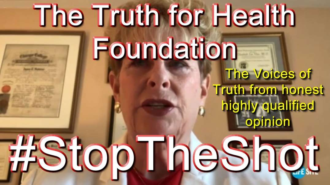 2021 AUG 05 Stop The Shot livestream from The Truth for Health Foundation
