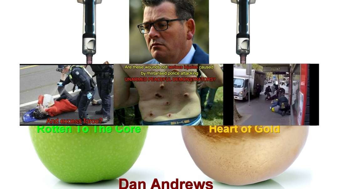 Vaccine Thugs and Early Treatment Deniers - Police Brutality - On the orders of Dan Andrews