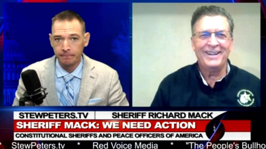 Sheriff Explains How to STOP Federal Vaccine Mandates in America!