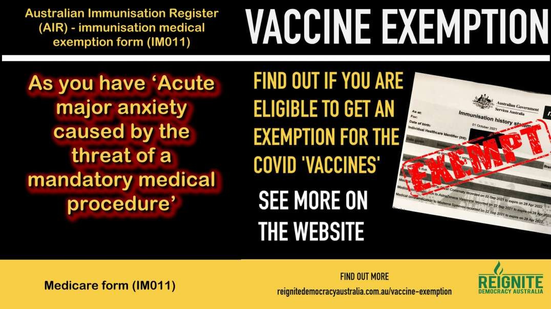 2021 OCT 12 Are you eligible for a vaccine exemption